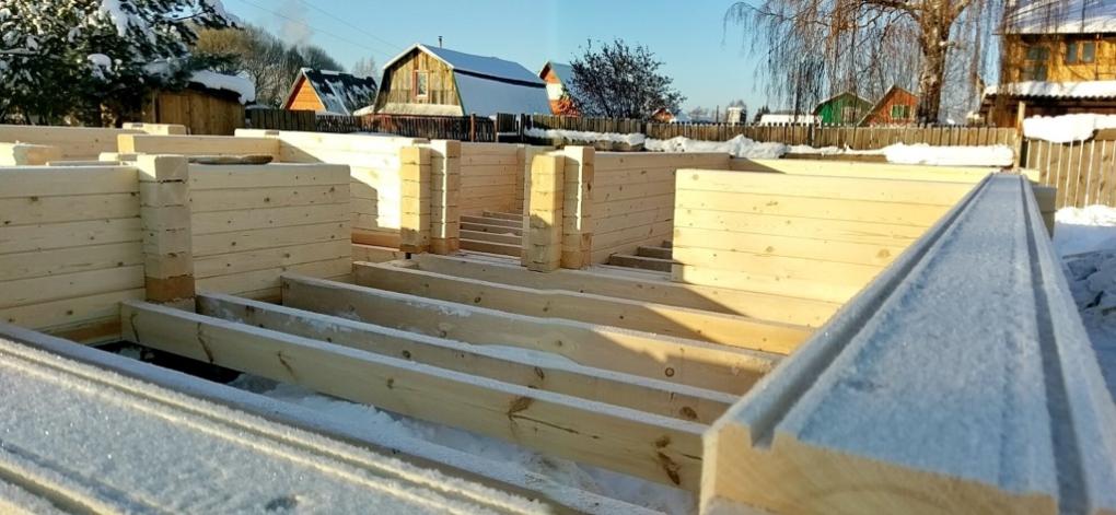 деревянные дома из бруса под ключ недорого