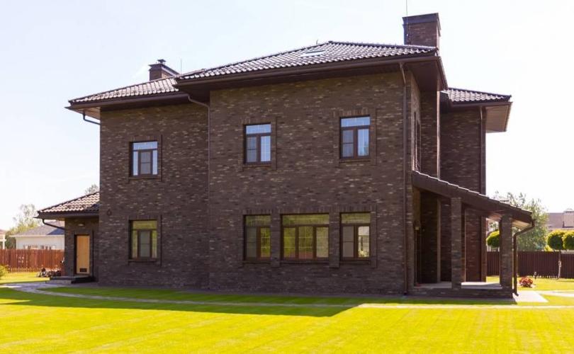 отделка фасада каркасного дома