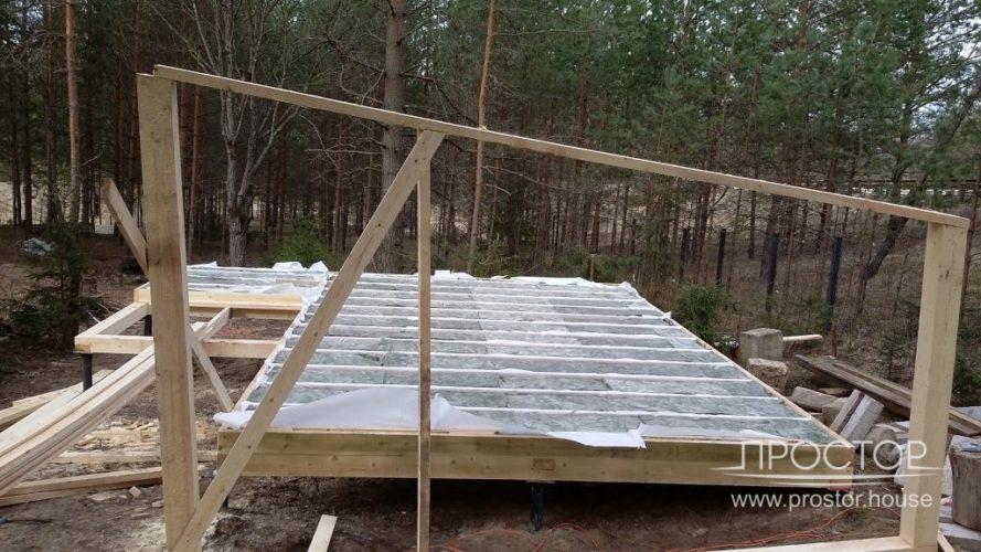 строительство дома в Луге