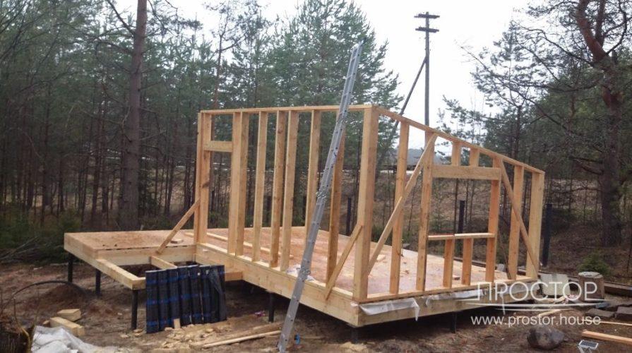Строительство каркасного дома в Луге