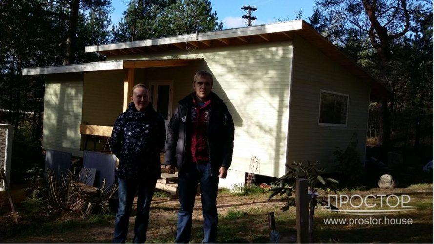 строительство каркасных домов в спб