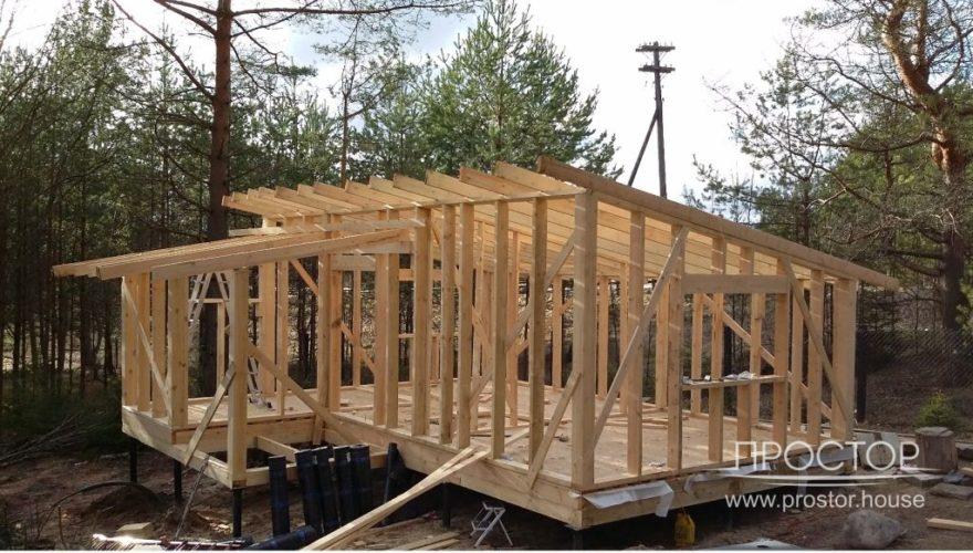 Строительство частного дома в Луге