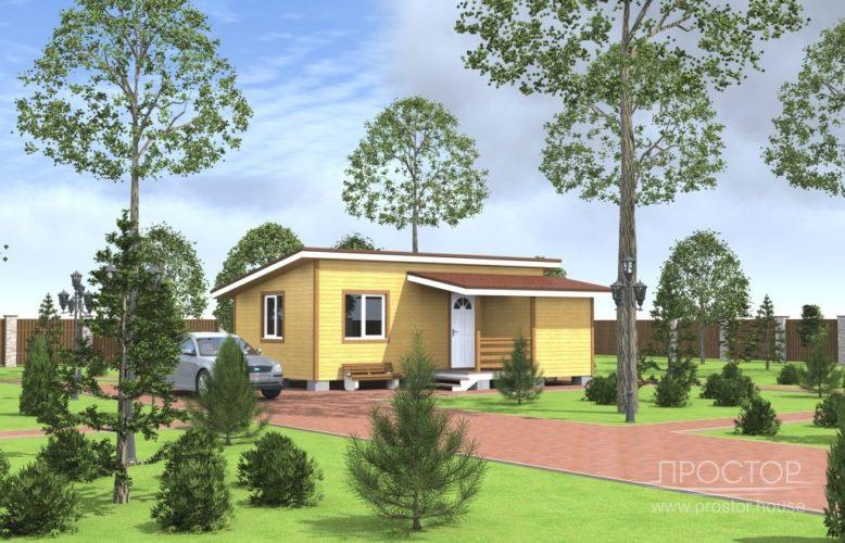 Каркасный дом в Луге