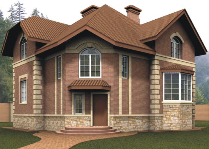 строительство домов из кирпича под ключ