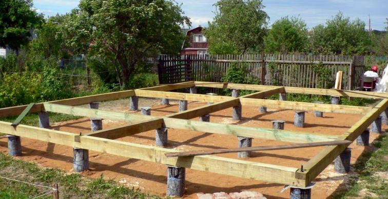 строительство свайного фундамента спб