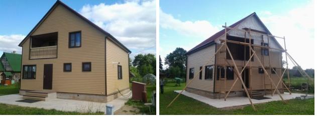 строительство деревянного дома петербург