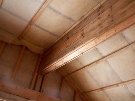 Теплоизоляция потолка - Простор