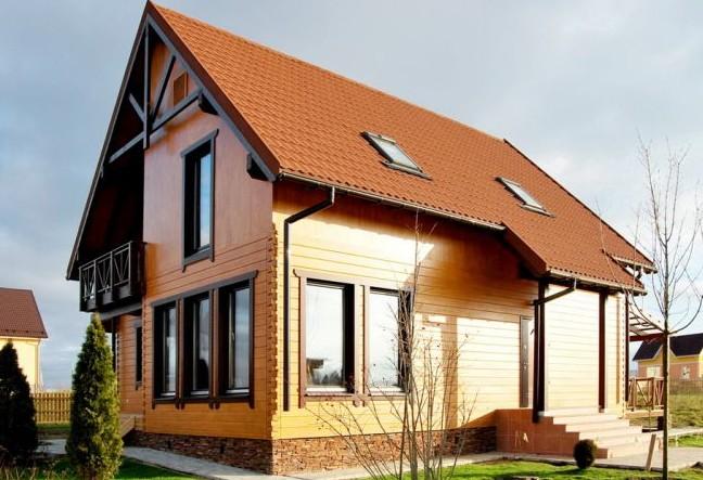 материалы для фасада частного дома