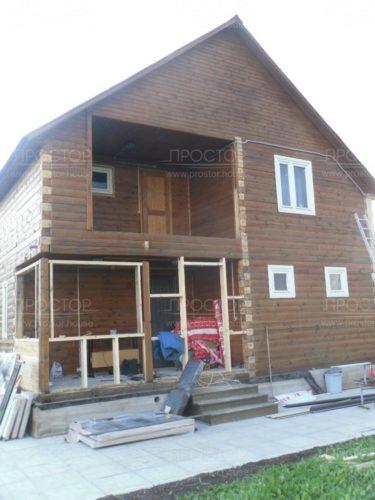 Утепление брусового дома - Простор