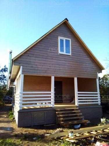 покраска каркасного дома снаружи фото
