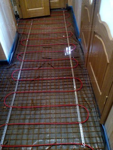 заливка бетонной стяжки - Простор