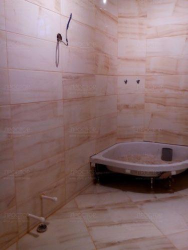 облицовка стен керамической плиткой - Простор