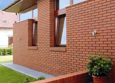 стены из строительного кирпича - Простор