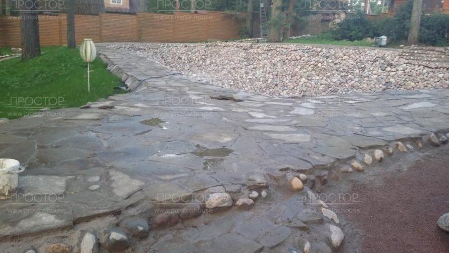 Искусственный водоем на даче - Простор
