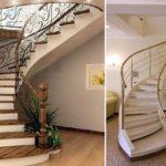 Бетонная лестница на второй этаж, как построить  и сделать красивую отделку?
