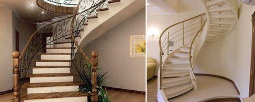 бетонная лестница на второй этаж - Простор