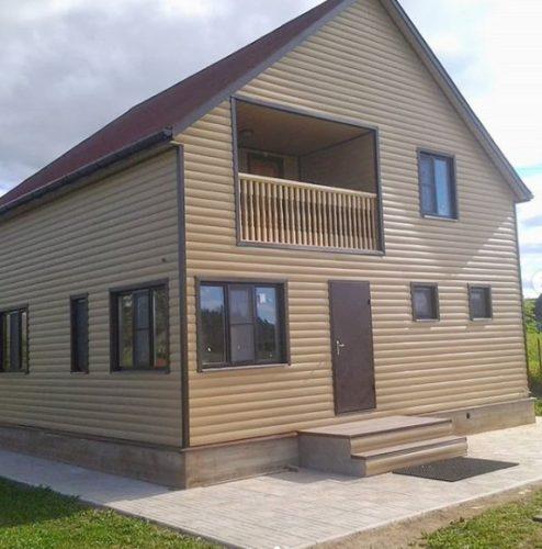 Как построить дом осенью - Простор