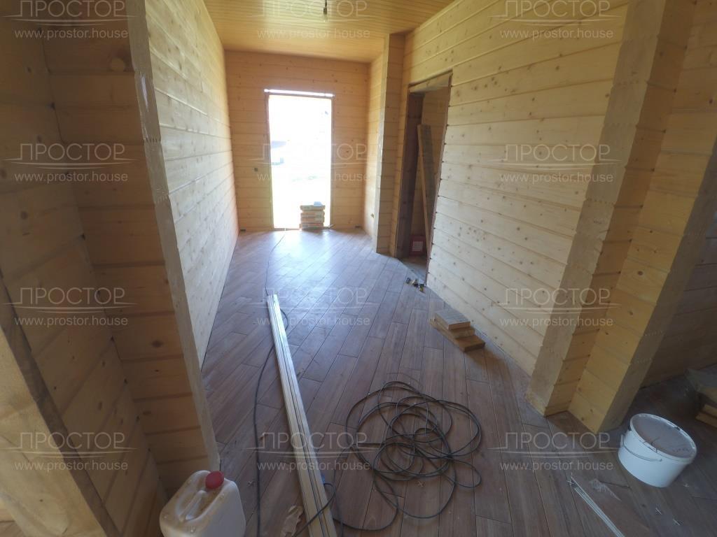 Укладка плитки в коридоре - Простор