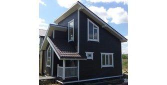 Строительство каркасного дома в Лужском районе - Простор
