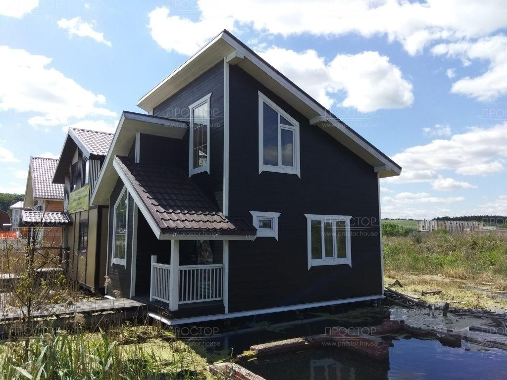 Сколько стоит построить двухэтажный дом - Простор