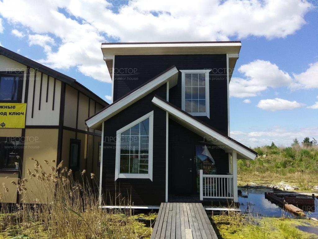 Как построить двухэтажный каркасный дом - Простор