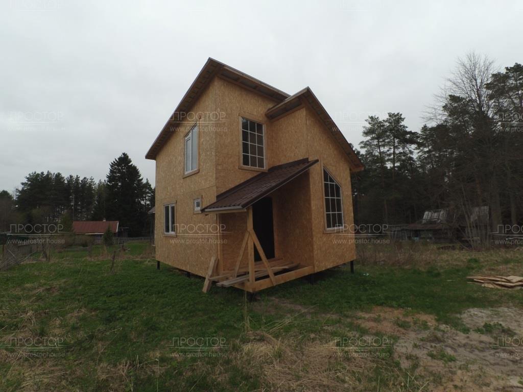 Построить каркасный дом 2 этажный - Простор