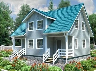 проекты недорогих дачных домиков - Простор
