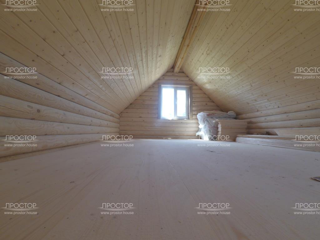 Монтаж полов из шпунта и потолки имитация бруса - Простор