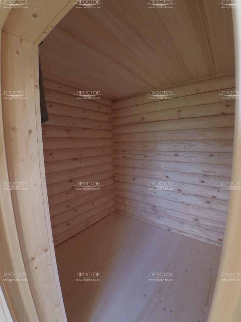 Монтаж потолка имитацией бруса - Простор