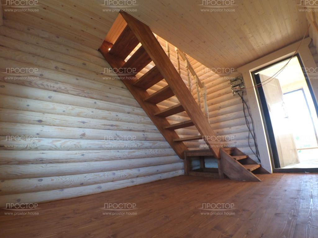 Установка лестницы - Простор