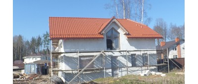 Крыша из керамической черепицы - Простор