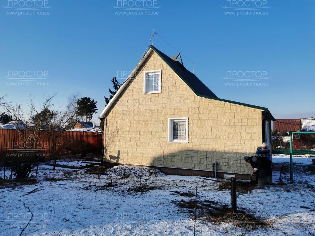 Пристройка к деревянному дому - Простор