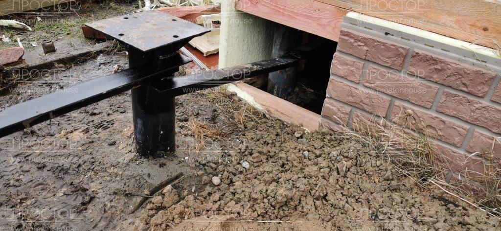 Пристройка к деревянному дому заказать - Простор