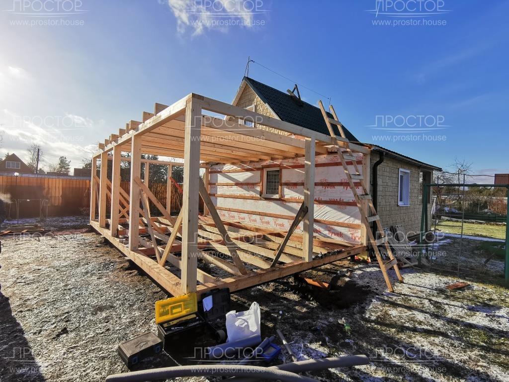 Как правильно сделать пристройку к деревянному дому - Простор