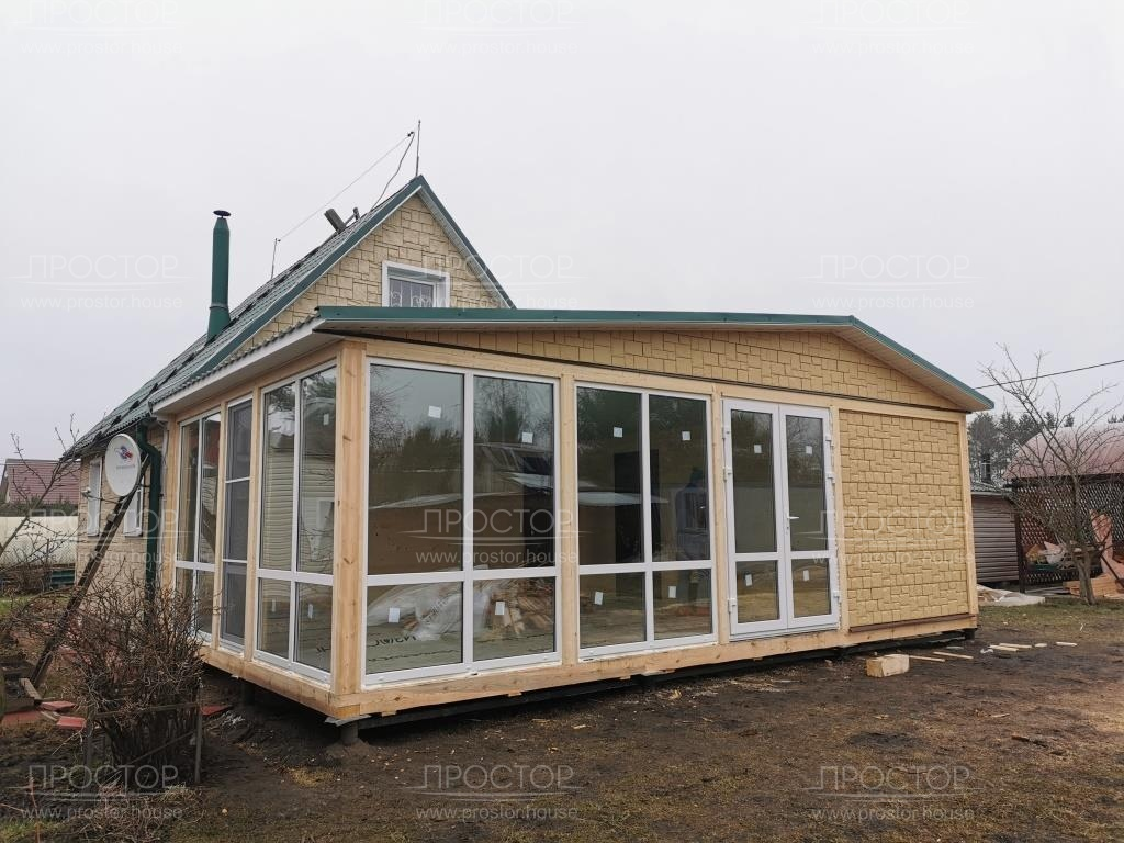 Строительство пристроек к деревянному дому - Простор