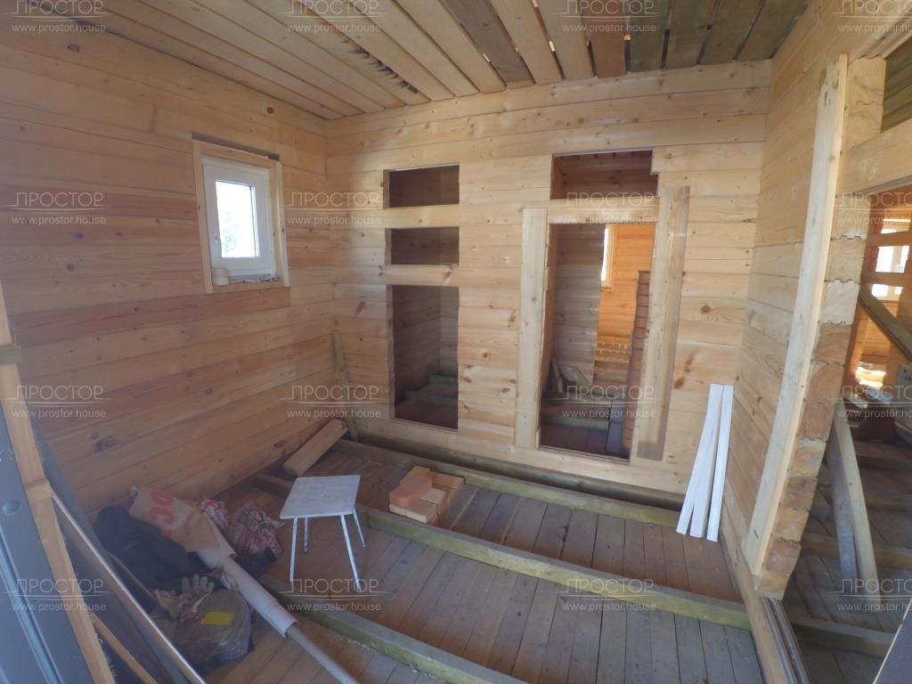 Каркасный дом с отделкой под ключ - Простор