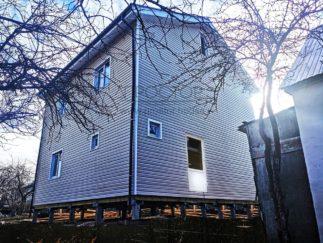 Каркасный дом 8х8 двухэтажный с мансардой-Простор