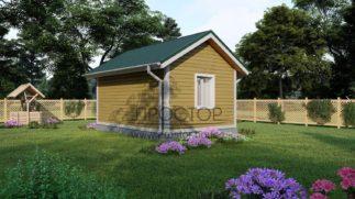 Строительство каркасного дома 6х4 в СПб-Простор