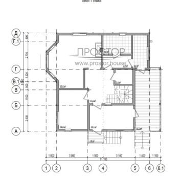 Каркасный дом 7х9 КД-19
