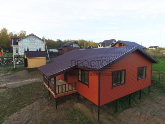 Строительство каркасного дома 9Х12 СПб -Простор