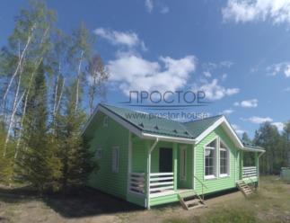 Каркасный дом 9х12 строительство в СПб - Простор