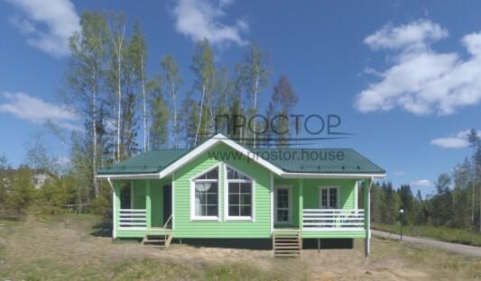 Одноэтажный дом 9х12 в СПб - Простор